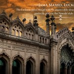 Owing to its incredible design, Lucknow #JamaMasjid stands top in the list of beautiful & mighty mosques in #India. https://t.co/mxOi29QRXa