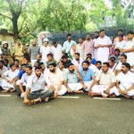 Iyc protest at kollam against the arrest of Iyc president @DeanKuriakose https://t.co/9kT7RcYYYD