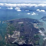 Great view of the whole of Portsmouth from the plane as I flew out to France yesterday ✈️ https://t.co/16JSP7o5ea
