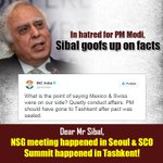 In hatred for PM Modi, Sibal goofs up on facts https://t.co/7t31hVxTrD