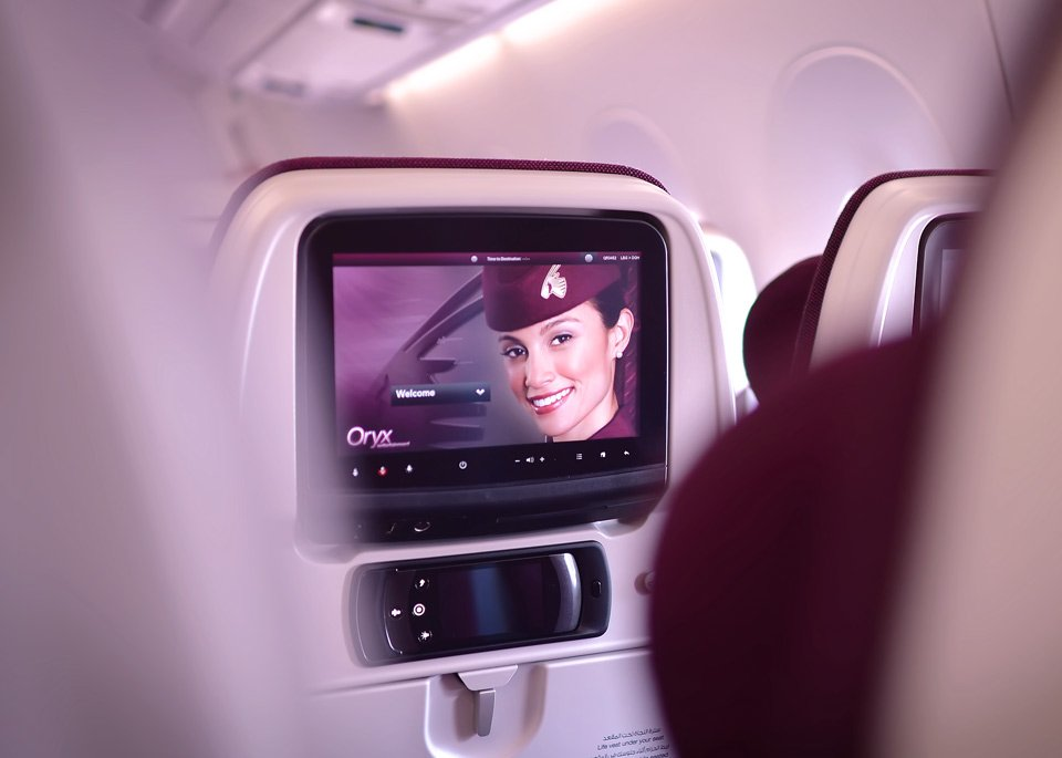 Oryx One offers over 3,000 channels of in-flight entertainment! Discover for yourself at