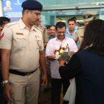 Delhi CM .@ArvindKejriwal reaches Goa for a 3 day visit #AKinGoa https://t.co/4MIYV6SMQx