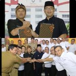 Penandatanganan kerjasama antar daerah Kota Bandung dan Kabupaten Bandung utk mencari solusi masalah2 lintas wilayah https://t.co/OSmLDmvYCC