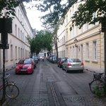 """Nice views of #Bonn, the #foss4g2016 hosting city:  Morning in what we call """"Altstadt"""" (Old City) https://t.co/EKkbPnQk8I"""