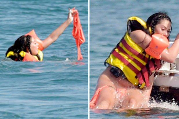 bottoms slip Bikini