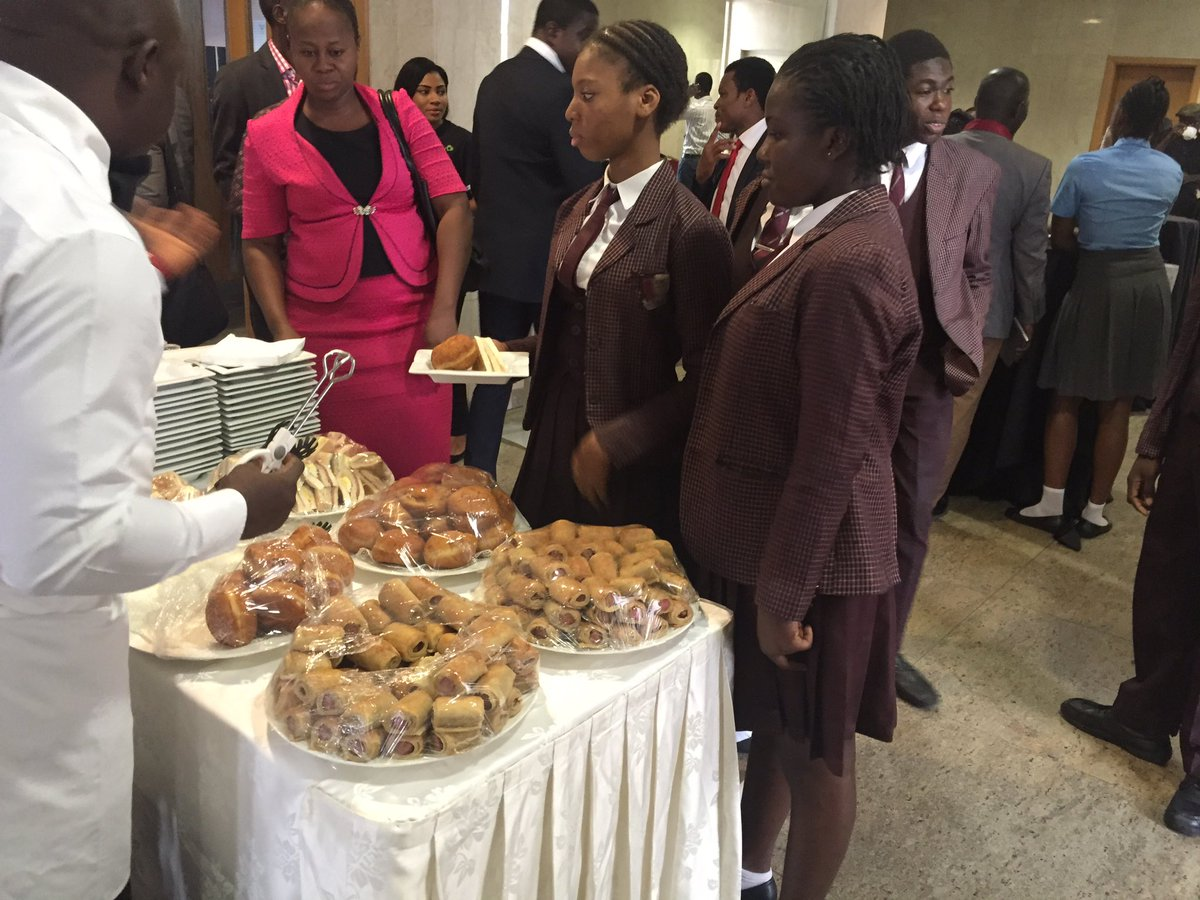 Breakfast at the #CliqlitePortal Launch. Proudly brought to you by @etisalat_9ja #NewWayToLearn https://t.co/S80U7euG7W