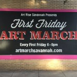 This Friday: Explore #Savannahs Starland District at the 1st Friday Art March! >> https://t.co/69zKzb9i9I https://t.co/ry6NQo1F0i