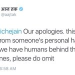Hai @aajtak Who is that person with a loaded mind in ur media house? #ShameAajTak https://t.co/KbIwfNS7K8