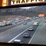 ALERT: US 93 closed in both directions approaching the Hoover Dam bridge. Traffic diverted to (SR 172) Hoover Dam https://t.co/DXCHMfygMa