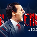 Le @PSG_inside est heureux d'annoncer l'arrivée d'@UnaiEmery_ au poste d'entraîneur jusquen juin 2018 #WelcomeCoach https://t.co/FXeKEMXXUR