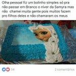 o bolo da frozen rancorosa está passando em sua timeline https://t.co/iSd8QJSeC0