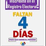 Inscribete en el RE, tienes hasta el 2 de Julio #Guayana vía @bolivar_vj https://t.co/byOvhOSKxg