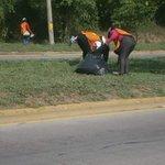 Realizando limpieza en el Bulevar del Sur Unidad de Ornato sigue trabajando por mantener una #SPS limpia. #SPSAvanza https://t.co/tWEAV3PdP1