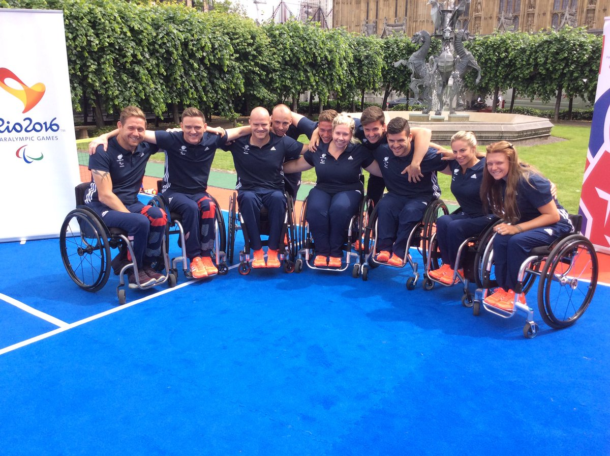 What a bunch! Here are the 10 athletes who will represent @ParalympicsGB in Rio!