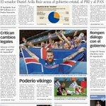 La portada de hoy https://t.co/lIV4wBZaa9 #Mérida https://t.co/J7dwlOilnn
