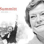 BREAKING: Pat Summitt, the winningest coach in Division 1 history, has died at 64. https://t.co/SnnMSRHMYm https://t.co/t4ha3NxhLc