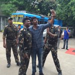 RT @sundeepkishanFC: @sundeepkishan on the sets of #Mayavan,Except Two songs total shooting of Mayavan wrapped up 2day,Teaser getting rdy h…