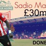 DONE DEAL! Sadio Mane is a #LFC player https://t.co/WiIDDA8hFf https://t.co/aPCNTZp4RL
