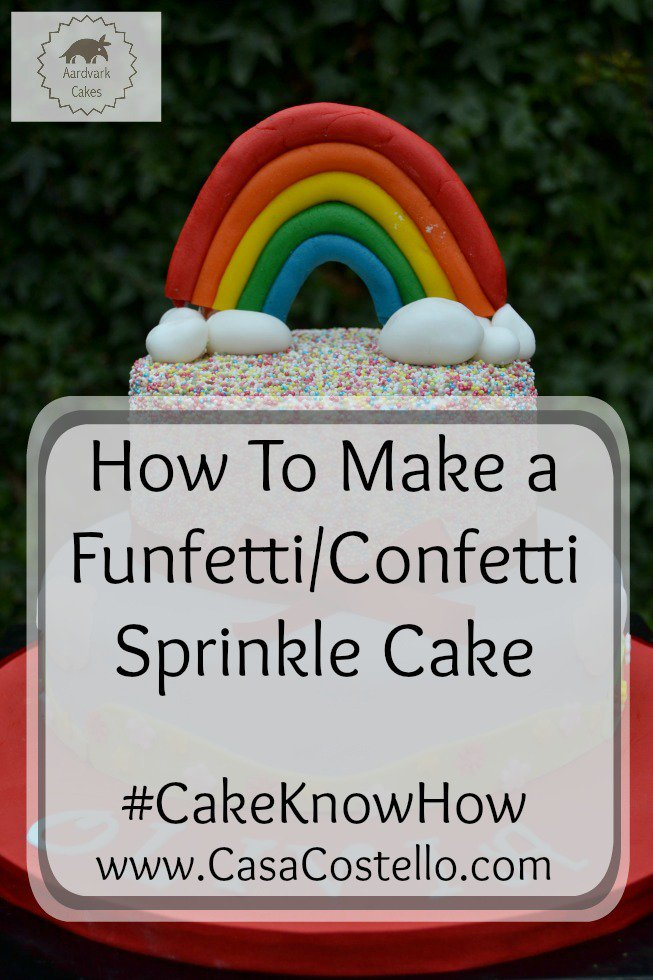 New blog post: How to make a Funfetti /Confetti Sprinkle Cake #CakeKnowHow https://t.co/pyfzUVXf2E https://t.co/WwFFVGF9gl