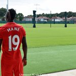 More images of our new signing, Sadio Mane. #LFC #ManeLFC https://t.co/Sk2FNtBOw2