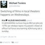 Just to let us know from @DirekMike #ALDUBIYAMin15Days -EL Be united & support our bibis @aldenrichards02 @mainedcm https://t.co/XLvwPUilDh