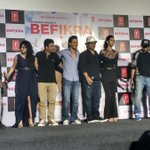 #Befikra SONG LAUNCH #LIVE #TigerSrhoff #DishaPatani in #Mumbai #TSeries Song Video here https://t.co/QtSOqgad6R https://t.co/r5pyCvqZRp