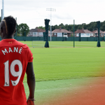 📸 Mane takes in his new surroundings at Melwood! #SadioSigns https://t.co/0KUbJG9AJe