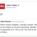 #Shame on @IndiaToday group .. @aroonpurie https://t.co/BsbA93ShSO