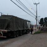 ATENCIÓN #LaSerena: Precaución camión detenido haciendo ocupación de calzada Benavente/Amunátegui (foto:@Bombero195) https://t.co/htQghMLv12