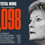 Pat Summitt was the winningest coach in mens or womens NCAA history. https://t.co/5jIBAdTT79