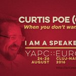 Our fav speaker today is @OvidPerl. Join his talk When you dont Want Agile at https://t.co/JMFBMue9qJ #yapceu2016 https://t.co/9aMa98vfdY