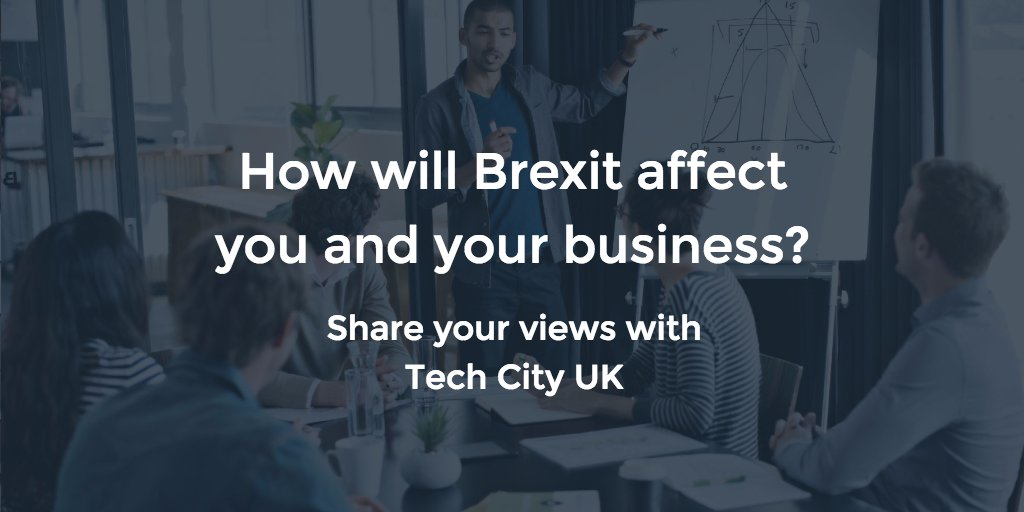 #UKTech community! Help us inform the UK Government how #Brexit will impact your business: https://t.co/WUfTmQeYqS https://t.co/80EdzfaKhv