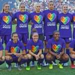 B4 a match the @ORLPride show their support to the #PulseShooting victims and to our community. #OrlandoUnited @NWSL https://t.co/UtVR8SPIMB