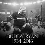 BREAKING: Longtime NFL coach Buddy Ryan has died. He was 82. https://t.co/MwrAh7HStz