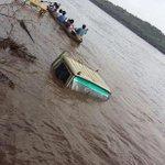 Vehicles half-submerge after heavy rainfall in Mandla district of Madhya Pradesh, reports news agency ANI https://t.co/txoXIe9QRa