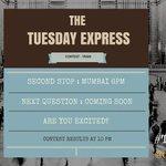 Next Stop #TuesdayExpress #Mumbai #Contest #ContestAlert @contests2share @thefreejinn https://t.co/u6ZkB9DmoF