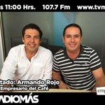 Hoy en @EmprendeteRTV Armando Rojo, empresario del café, 11:00 Hrs por @RADIOMASVer con @OliverOlea en el 107.7 Fm https://t.co/JQaJWDx5x8