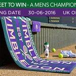 RT for a chance to #WIN a #Wimbledon Mens Championship Towel, ends 30/06 T&Cs: https://t.co/ssrd2BB8RA. https://t.co/Xk6qMtUL5w