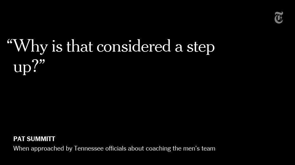 Pat Summitt, in one quote. https://t.co/H9CpdzyWZA https://t.co/W3aIXwoktG