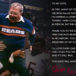 In 1981, Bears players wrote a letter to keep Buddy Ryan. In 2015, it was Ryan writing the letter to his players. https://t.co/krIuIu9Sy3