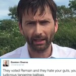 David Tennant unleashes his inner Time Lord on Donald Trump ⏩ by @lee_moran https://t.co/GEf9jo3V7t https://t.co/fROaef7QfE
