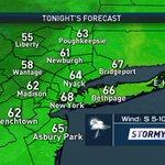Evening storms should taper by midnight, but a few showers could linger on overnight! #tonight #tstorms #nyc https://t.co/tjiWYAnBWv