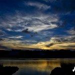 Sunset from Pawleys Island last night via TJ Baccari. #scwx https://t.co/IcMC1Fg0Hw