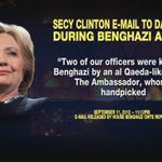 #HillaryClinton discussed a motive behind the #Benghazi attack in an email with her daughter https://t.co/Do4ieyQMFS https://t.co/BgRmOmKiXH
