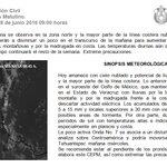 Boletín Meteorológico Matutino del 28 de Junio de 2016 https://t.co/AAdvDsCqOd