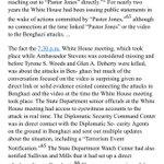 From Gowdy Benghazi report, regarding Obama admin Secure Video Teleconference 730-930 pm night of 9/11/12 attack https://t.co/AtP0cYOjl8
