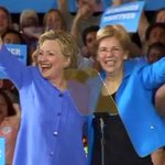 CAMPAIGN 2016- HILLARY & WARREN- Cordes CTM PKG TUE0081- MA Sen. Warren hits campaign trail with Hillary Clinton. https://t.co/aqYAvAze7G