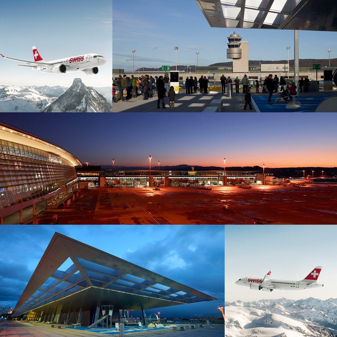 Ergreif die Chance & fotografier die CS100 aus einer speziellen Perspektive am @zrh_airport: