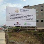 Aparece anuncio espectacular en zona hotelera de Boca del Río. Piden no entregar el WTC al IPE. https://t.co/Sz2GyHkP4i