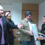Atendiendo las necesidades de los pacientes del IAHULA, entrega de equipo de Cataterismo para paciente piso 6 https://t.co/bFwvkPqean